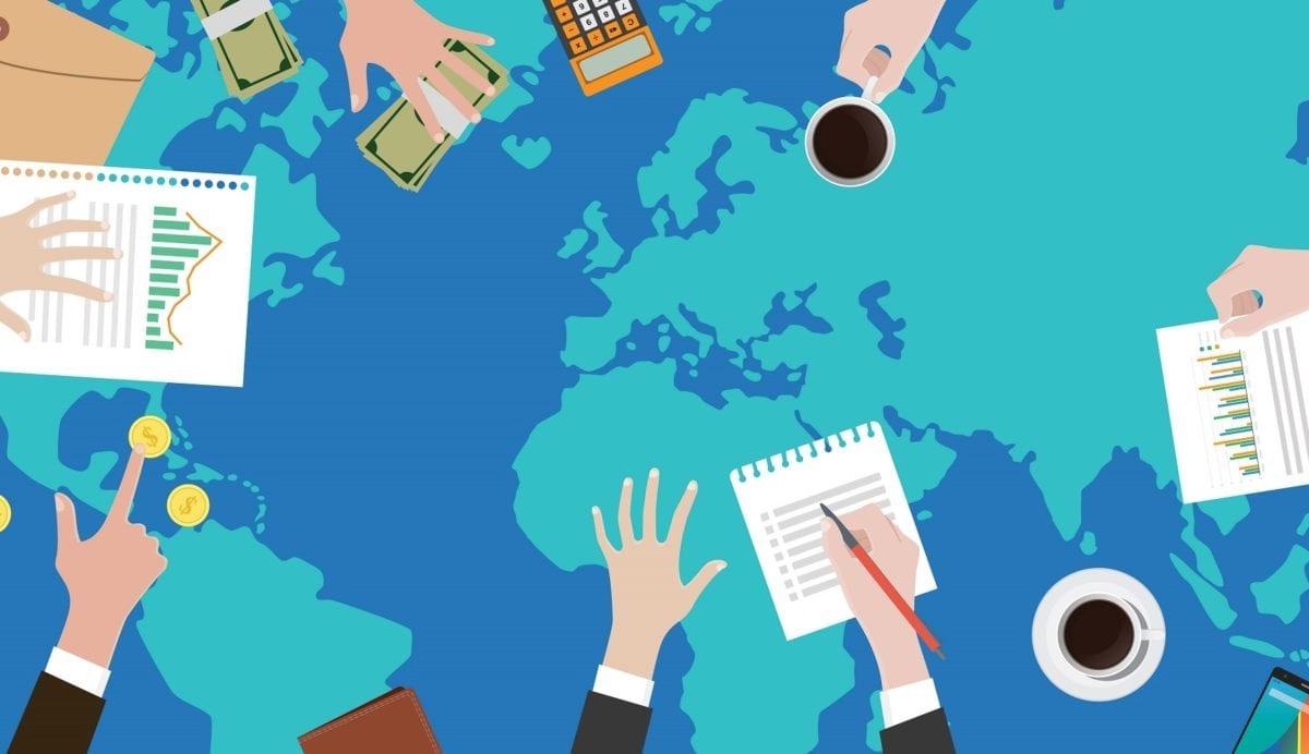 القوانين الدولية التابعة للتجارة الخارجية