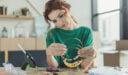 النساء والصناعات الحرفية