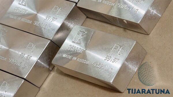 استخدامات معدن البلاتين في قطاع الصناعة
