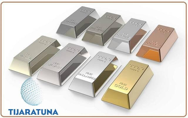 الفرق بين معدن الفضة والبلاتين