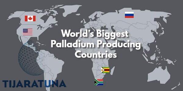 ما هي أكبر الدول المنتجة للبلاتين في العالم