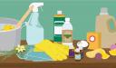 كيف يصنع المنظفات المنزلية