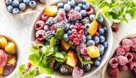 ما هي مصادر الفواكه المثلجة