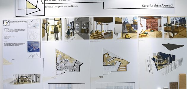 مشروع التصميم الداخلي في السويد