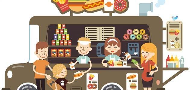 مشروع عربة بيع الطعام في السويد