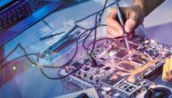 شرح اقسام مواد الهندسة الكهربائية