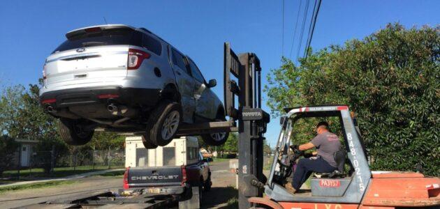 مشروع ونش إنقاذ سيارات في ألمانيا