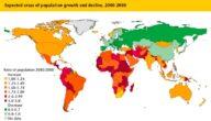 معلومات عن الزيادة السكانية والأمن الغذائي