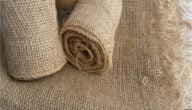 المواد الاساسية لصناعة أكياس الخيش وألوان أقمشة الخيش