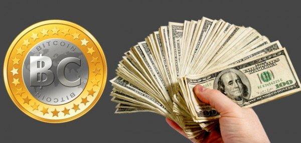 تحويل البيتكوين إلى دولارات Bitcoin (BTC)
