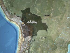 خارطة بوليفيا