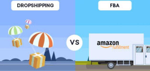 كيف تتم Amazon FBA عبر Drop Shipping؟