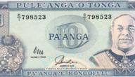 رمز عملة بانغا تونغا