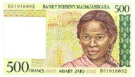 رمز عملة مالاجاس مدغشقر وسعرها مقابل العملات الرئيسية