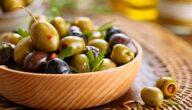 صناعة الزيتون المعلب مكونات صناعة الزيتون المعلب