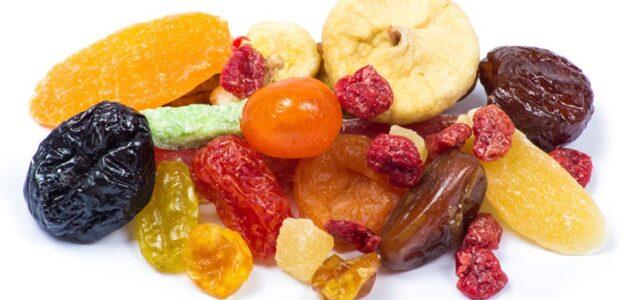 صناعة الفواكه المجففة مكونات صناعة الفواكه المجففة