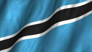 علم بوتسوانا