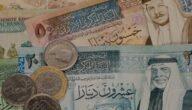 ترتيب العملات في العالم العربي 2021