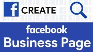 إنشاء صفحة أعمال على الفيس بوك